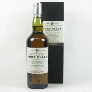 Port Ellen 1978 29 Year Old 8th Release Front