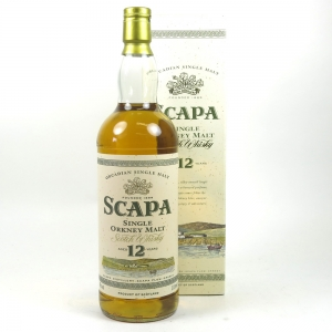 Scapa 12 Year Old 1 Litre Front