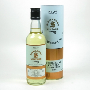 Caol Ila 1999 Signatory Vintage 9 Year Old 35cl Front
