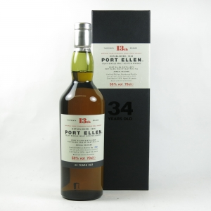 Port Ellen 1978 34 Year Old 13th Release front