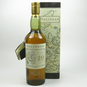 Talisker 10 Year Old Map Label