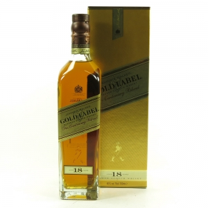 Johnnie Walker Gold label 18 Year Old Front