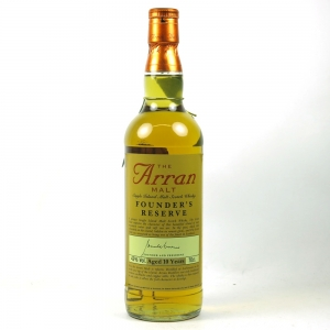 Arran Founders Reserve 10 Year Old Front
