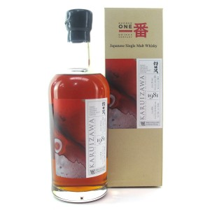 Karuizawa 1981 Single Cask 33 Year Old #136 / Artifices Series Warren Khong #009
