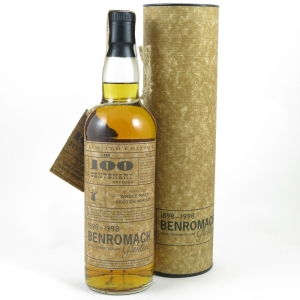 Benromach 17 Year Old Centenary front
