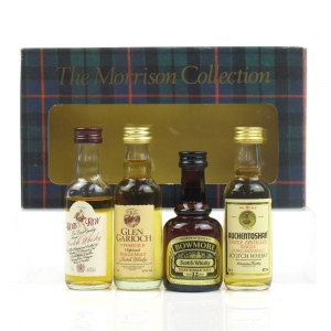 Morrison Collection / Auchentoshan, Bowmore, Glen Garioch & Rob Roy