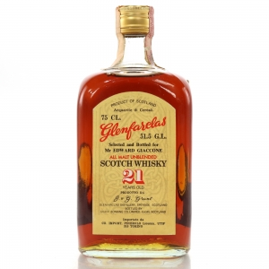 Glenfarclas 21 Year Old Cask Strength 1970s / Edward and Edward