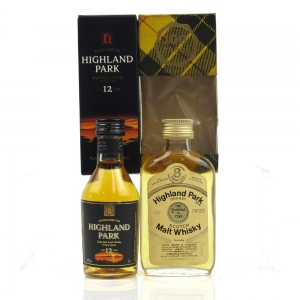 Highland Park 2 x 5cl / Includes 8 Year Old 100 Proof