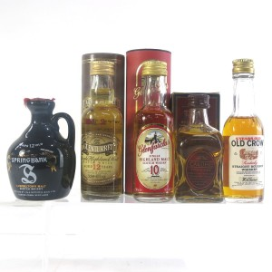 Miscellaneous Whisky Miniatures x 5