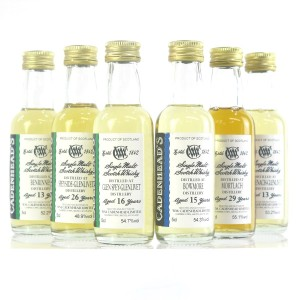Cadenhead's Miniature Selection 6 x 5cl