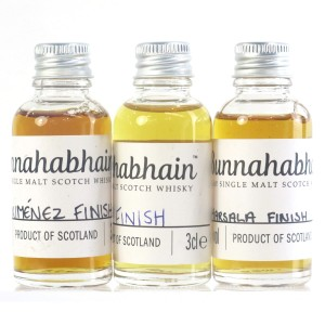 Bunnahabhain Sample Miniatures 3 x 3cl