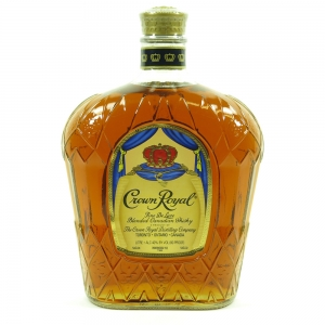 Crown Royal Canadian Whisky 1 Litre Front