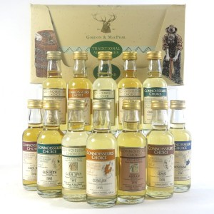 Gordon and MacPhail Traditional Miniatures Box Set 12 x 5cl