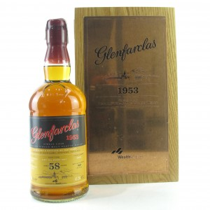 Glenfarclas 1953 Single Cask 58 Year Old / Wealth Solutions