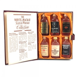 Whyte and Mackay Scotch Whisky Collection 6 x 5cl