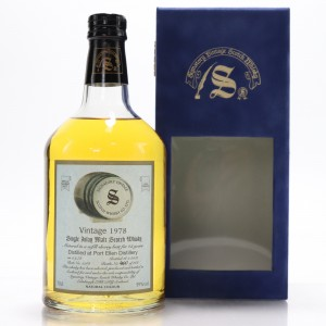 Port Ellen 1978 Signatory Vintage 23 Year Old / Cask #5268