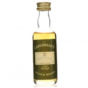 Port Ellen 1981 Cadenhead's 16 Year Old Miniature 5cl