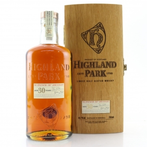 Highland Park 30 Year Old / The Spectator 180th Anniversary