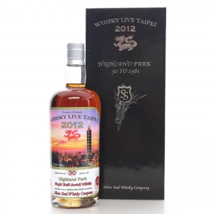 Highland Park 1981 Silver Seal 30 Year Old / Whisky Live & The Auld Alliance