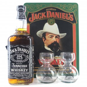 Jack Daniel's Old Time Tennessee Whiskey Tin