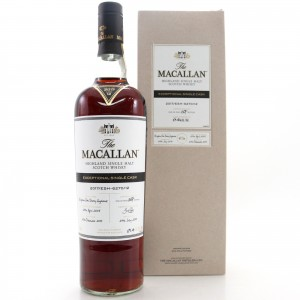 Macallan 2005 Exceptional Cask #6270-12 75cl / 2017 Release - US Import