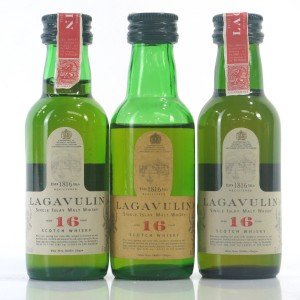 Lagavulin 16 Year Old White Horse Distillers Miniature Selection 3 x 5cl