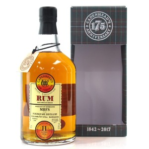 Foursquare 2006 Cadenhead's 11 Year Old Barbados Rum