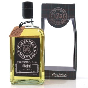 Bowmore 2003 Cadenhead's 14 Year Old
