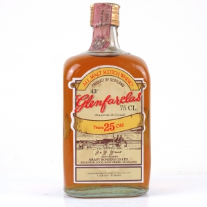 Glenfarclas 25 Year Old 1980s / Pinerolo Import