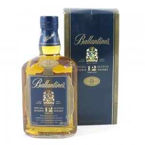 Ballantines 12 Year Old Gold Seal front