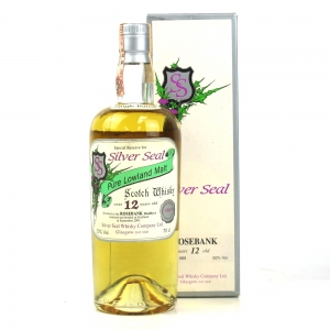 Rosebank 1989 Silver Seal 12 Year Old