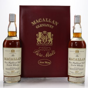 Macallan 1958 Campbell, Hope and King - Rinaldi Import / Twin Pack 2 x 75cl​​​​​​​