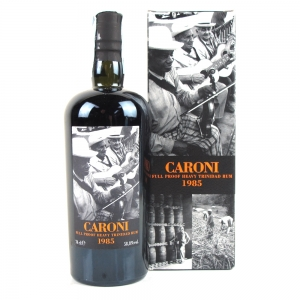 Caroni 1985 21 Year Old Full Proof Trinidad Rum