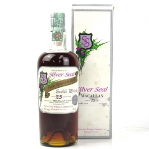 Macallan 1978 Silver Seal 25 Year Old