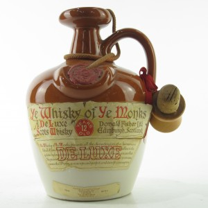 Ye Monks 12 Year Old De Luxe Decanter