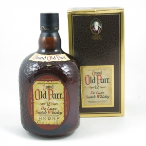 Grand Old Parr Deluxe 12 year old 1 Litre front