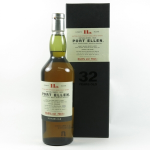 Port Ellen 1979 32 Year Old 11th Release Front