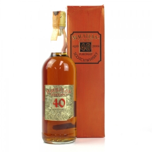Macallan 40 Year Old Gordon and MacPhail / Pinerolo Import