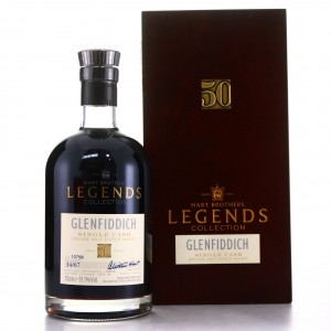 Glenfiddich 1964 Hart Brothers 50 Year Old Legends Collection