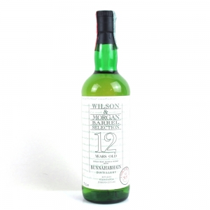 Bunnahabhain 12 Year Old Wilson and Morgan Cask Strength