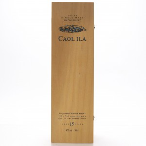 Caol Ila 15 Year Old Flora and Fauna Wooden Box