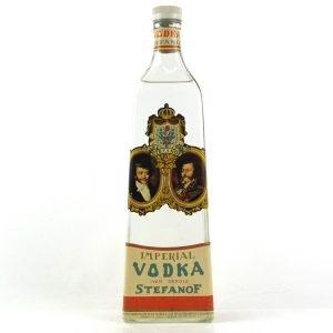 Stefanof Imperial Vodka 1950s
