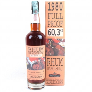 Guadeloupe 1980 Rhum Damoiseau Full Proof / Velier Import
