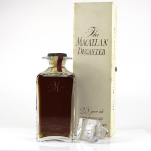 Macallan 1963 / The Macallan Decanter 25 Year Old