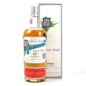 Brora 1982 Silver Seal 19 Year Old