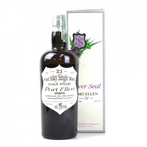 Port Ellen 1980 Silver Seal 21 Year Old