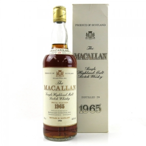 Macallan 1965 18 Year Old