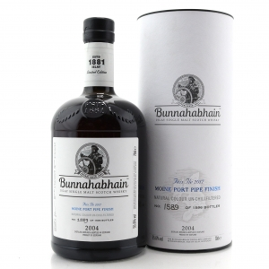 Bunnahabhain 2004 Moine Port Pipe Finish 12 Year Old / Feis Ile 2017