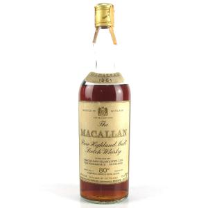 Macallan 1961 Campbell, Hope and King