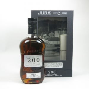 Isle of Jura 21 Year Old 200th Anniversary